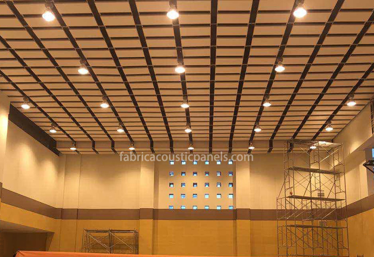 Baffle Ceiling System Ceiling Baffles Insulation Absorption