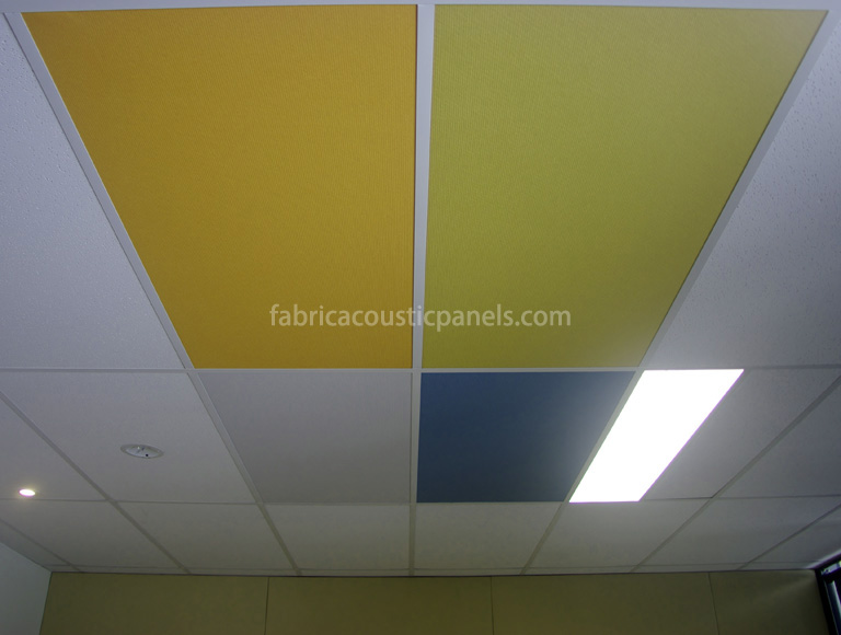 Fabric Ceiling Panels