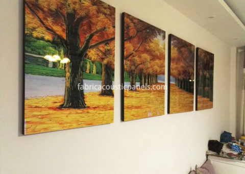 fabric wall art fabric acoustic panels