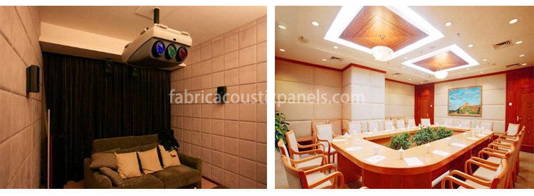 Fabric Wall Coverings Sound Absorbing Wall Covering Fabric Covered Wall Panels