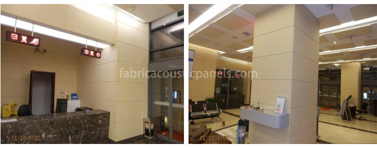 Fabric Wall Panels Padded Decorative Fabric Acoustic Wall Panels