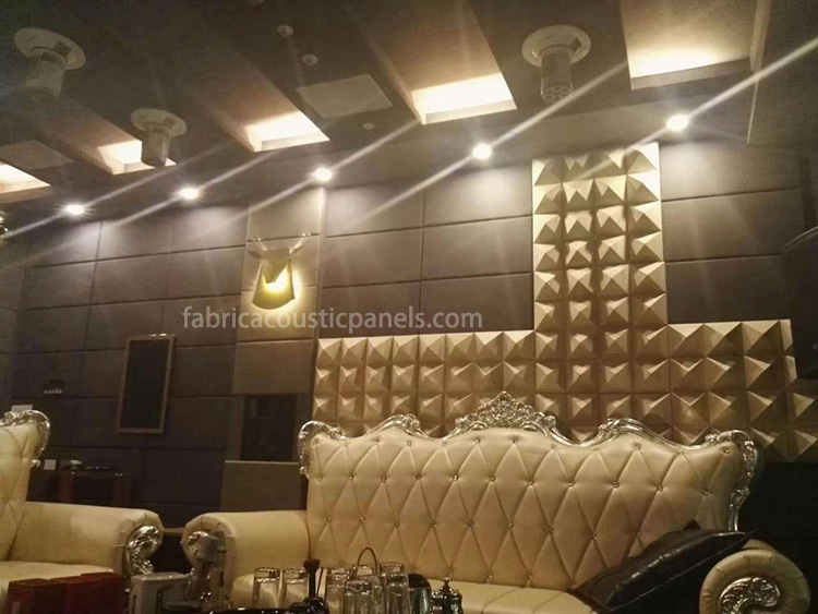 Fabric Acoustic Sheets Sound Dampening Wall Art Sound Absorbing Panels Fabric Sound-Absorbing Panels