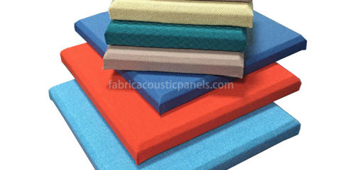 Fabric Sound Absorbing Panels Sound Absorbing Wall Art Colored Fabric Sound-Absorbing Panels