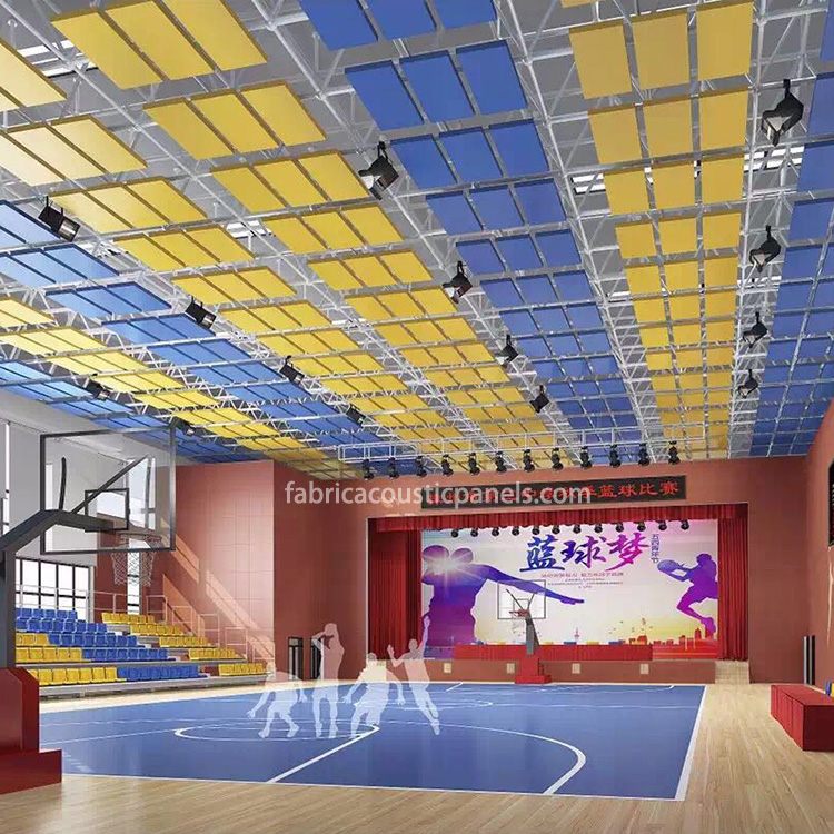 Gymnasium Acoustic Panels Acoustic Treatment for Large Rooms Church Large Sound Absorbing Panels